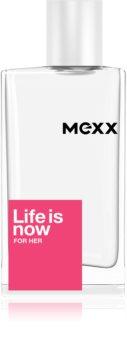 Mexx Life is Now  for Her Eau de Toilette pentru femei