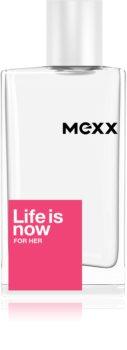 Mexx Life is Now  for Her toaletní voda pro ženy