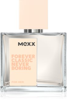 Mexx Forever Classic Never Boring for Her Eau de Toilette Naisille