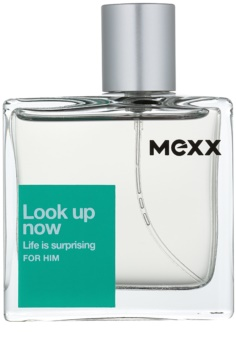 Mexx Look Up Now For Him after shave para homens 50 ml