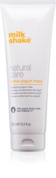 Milk Shake Natural Care Active Yogurt masca de iaurt activa pentru păr