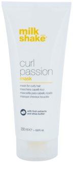 Milk Shake Curl Passion Mask För vågigt hår