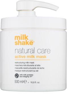 Milk Shake Natural Care Active Milk Aktiv mjölkmask för torrt och skadat hår
