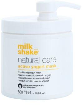 Milk Shake Natural Care Active Yogurt Aktiivinen Jogurttinaamio Hiuksille