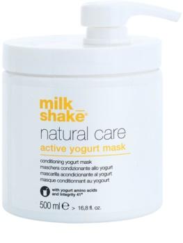 Milk Shake Natural Care Active Yogurt активна маска с кисело мляко За коса
