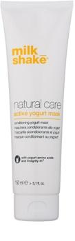Milk Shake Natural Care Yogurt máscara hidratante de iogurte para cabelo natural ou pintado