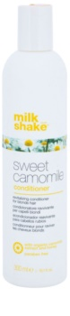 Milk Shake Sweet Camomile der nährende Conditioner für blonde Haare