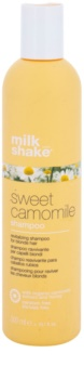 Milk Shake Sweet Camomile Chamomile Shampoo for Blonde Hair