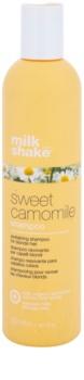 Milk Shake Sweet Camomile champú con manzanilla para cabello rubio