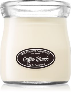 Milkhouse Candle Co. Creamery Coffee Break scented candle Cream Jar