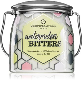 Milkhouse Candle Co. Creamery Watermelon Bitters scented candle Butter Jar