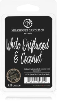 Milkhouse Candle Co. Creamery White Driftwood & Coconut vosk do aromalampy