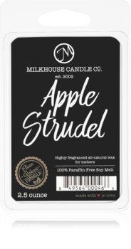 Milkhouse Candle Co. Creamery Apple Strudel vaxsmältning