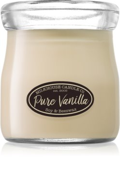 Milkhouse Candle Co. Creamery Pure Vanilla scented candle Cream Jar