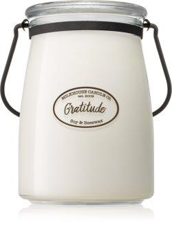 Milkhouse Candle Co. Creamery Gratitude vonná svíčka Butter Jar