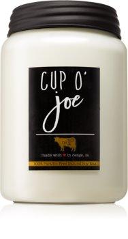Milkhouse Candle Co. Farmhouse Cup O' Joe bougie parfumée Mason Jar