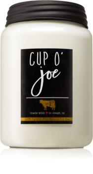 Milkhouse Candle Co. Farmhouse Cup O' Joe illatos gyertya  Mason Jar