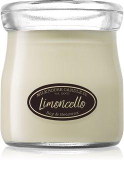 Milkhouse Candle Co. Creamery Limoncello Tuoksukynttilä Kermapurkki