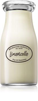 Milkhouse Candle Co. Creamery Limoncello Tuoksukynttilä Maitopullo