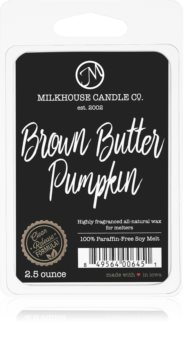 Milkhouse Candle Co. Creamery Brown Butter Pumpkin ceară pentru aromatizator