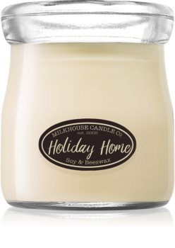 Milkhouse Candle Co. Creamery Holiday Home bougie parfumée Cream Jar