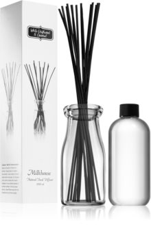 Milkhouse Candle Co. Creamery White Driftwood & Coconut aromdiffusor med refill