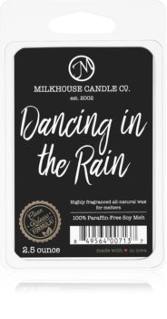 Milkhouse Candle Co. Creamery Dancing in the Rain tartelette en cire