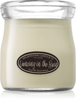 Milkhouse Candle Co. Creamery Dancing in the Rain scented candle Cream Jar