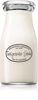 Milkhouse Candle Co. Creamery Tangerine Soda illatos gyertya  Milkbottle