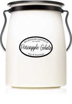 Milkhouse Candle Co. Creamery Pineapple Gelato mirisna svijeća Butter Jar