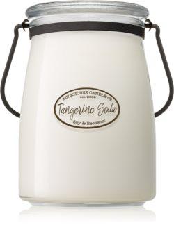 Milkhouse Candle Co. Creamery Tangerine Soda mirisna svijeća Butter Jar