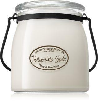 Milkhouse Candle Co. Creamery Tangerine Soda αρωματικό κερί Butter Jar