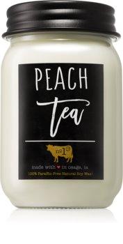 Milkhouse Candle Co. Farmhouse Peach Tea illatos gyertya