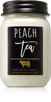 Milkhouse Candle Co. Farmhouse Peach Tea lumânare parfumată