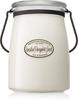 Milkhouse Candle Co. Creamery Roasted Pumpkin Seeds vela perfumada Butter Jar