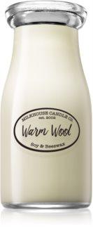 Milkhouse Candle Co. Creamery Warm Wool duftkerze  Milkbottle