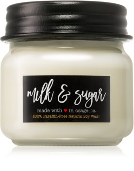 Milkhouse Candle Co. Farmhouse Milk & Sugar vela perfumada  Mason Jar