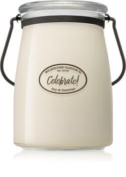 Milkhouse Candle Co. Creamery Celebrate! Duftkerze Butter Jar