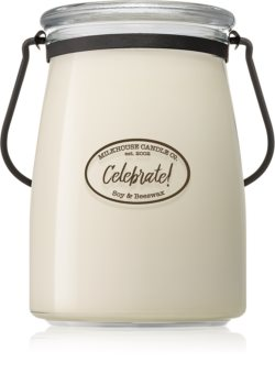 Milkhouse Candle Co. Creamery Celebrate! scented candle Butter Jar