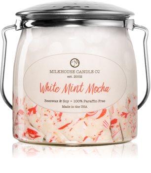 Milkhouse Candle Co. Creamery White Mint Mocha vonná svíčka Butter Jar