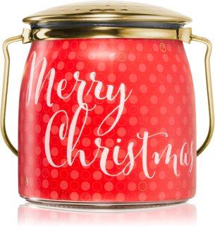 Milkhouse Candle Co. Creamery Victorian Christmas lumânare parfumată  Butter Jar