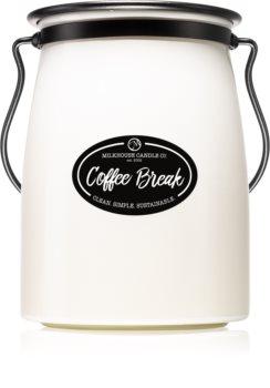 Milkhouse Candle Co. Creamery Coffee Break Duftkerze Butter Jar