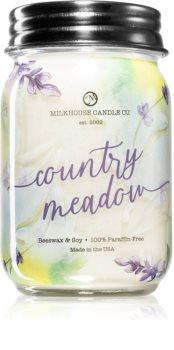 Milkhouse Candle Co. Farmhouse Country Meadow bougie parfumée Mason Jar