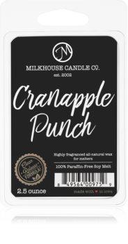Milkhouse Candle Co. Creamery Cranapple Punch vosak za aroma lampu
