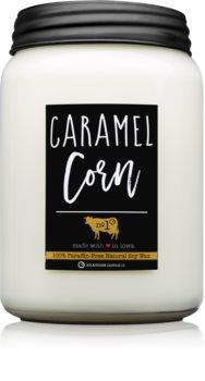 Milkhouse Candle Co. Farmhouse Caramel Corn illatos gyertya