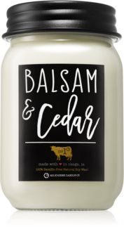 Milkhouse Candle Co. Farmhouse Balsam & Cedar ароматна свещ
