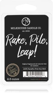 Milkhouse Candle Co. Creamery Rake, Pile, Leap! duftwachs für aromalampe