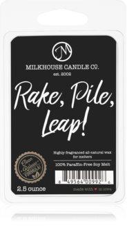 Milkhouse Candle Co. Creamery Rake, Pile, Leap! tartelette en cire