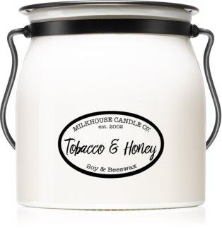 Milkhouse Candle Co. Creamery Tobacco & Honey αρωματικό κερί