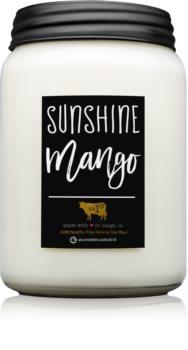 Milkhouse Candle Co. Farmhouse Sunshine Mango bougie parfumée
